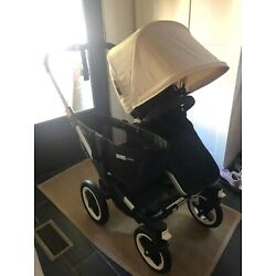 Kyпить BUGABOO donkey stroller Black with cream canopy на еВаy.соm