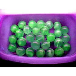 Kyпить 10  UV REACTIVE  VASELINE SWIRL URANIUM JABO GLASS MARBLES $7.99 LOT A на еВаy.соm