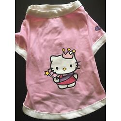 Hello Kitty by Little Lily Princess Dog T-shirt (Size: 14'')