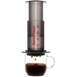 Aeropress Coffee and Espresso Maker - Makes 1-3 Cups of Delicious Coffee Withou