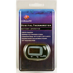 Kyпить Coralife Digital Thermometer Good For Terrariums Fresh and Saltwater Aquariums   на еВаy.соm