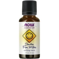 NOW Foods Smiles for Miles Oil Blend, 1 oz. FREE SHIPPING. MADE IN USA. FRESH