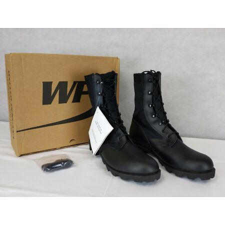 img-British Army - Military - MOD - Wellco Jungle Combat Boots - Black - New & Boxed