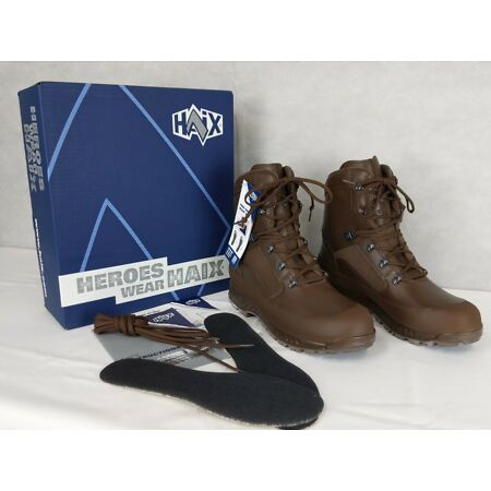 img-British Army - Military - MOD - HAIX Combat High Liability Boots - New & Boxed