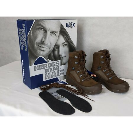 img-British Army Military - HAIX Woman's Combat High Liability Boots - New & Boxed