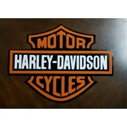 Kyпить HARLEY DAVIDSON LARGE DECAL STICKER 11 X 14 CAR, TRUCK, TRAILER, CORN HOLE DECAL на еВаy.соm
