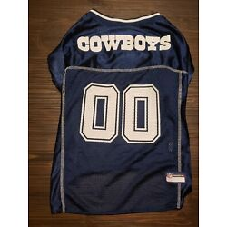 New Without Tags Official Dallas Cowboys Dog Jersey OU Texas NFL Football