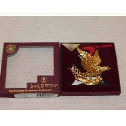 Kyпить Baldwin Brass PATRIOTIC EAGLE Christmas Ornament in Original Box 77031.010 на еВаy.соm