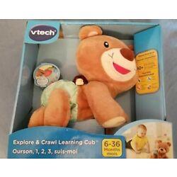 Kyпить NEW VTECH Explore and Crawl Learning Bear Cub Educational Toy  на еВаy.соm