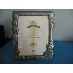 Kyпить Stunning Baby Picture Frame - Metal - 3D NEW 8x10 by Heirloom P14 на еВаy.соm