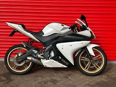 2013 YAMAHA YZF R125 LEARNER LEGAL WHITE DELIVERY AVAILABLE PLEASE READ ADD