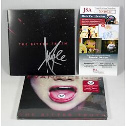 Kyпить AMY LEE SIGNED EVANESCENCE THE BITTER TRUTH CD BOOKLET AUTOGRAPHED +JSA COA на еВаy.соm