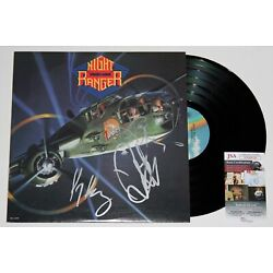 Kyпить NIGHT RANGER SIGNED 7 WISHES LP VINYL RECORD ALBUM SEVEN AUTOGRAPHED +JSA COA на еВаy.соm