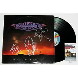 Kyпить NIGHT RANGER SIGNED MAN IN MOTION LP VINYL RECORD ALBUM AUTOGRAPHED +JSA COA на еВаy.соm