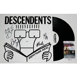 Kyпить DESCENDENTS BAND SIGNED EVERYTHING SUCKS VINYL LP RECORD ALBUM AUTOGRAPH JSA COA на еВаy.соm