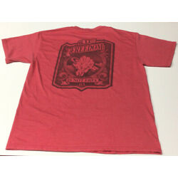 5.11 Freedom Is Not Free Mens Red Large Tshirt Preowned
