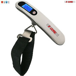 Luggage Scale Handheld Portable Electronic Digital Travel 110LBS 5Core LSS005