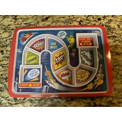 Kyпить Fred Dinner Winner Kids' Divided Dish Plate Tray, Superhero Picky Eater на еВаy.соm