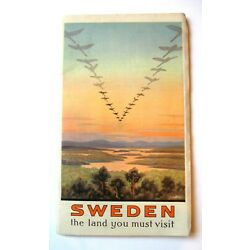Kyпить 1925 SWEDEN TOURISM, TRAVEL BOOKLET на еВаy.соm