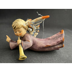 Kyпить GOEBEL HUMMEL 366 NATIVITY FLYING ANGEL TRUMPET 3-3/4