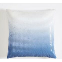 Kyпить NEW Pottery Barn Ombre Sequin Pillow Cover, Blue (COVER ONLY). на еВаy.соm