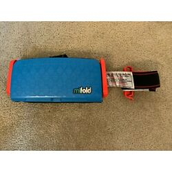 Mifold Compact Car Seat for Kids Blue - Fits in Suicase or Purse - Great for Kid