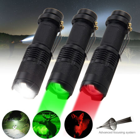 img-LED Tactical Flashlight Military Grade Torch Small Super Bright Handheld Light