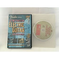 Fender Presents: Getting Started on Electric Guitar & Acoustic Rock Guitar DVD's