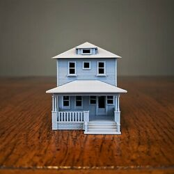 N-Scale - 1920s Kit Home - 1:160 Scale Building House