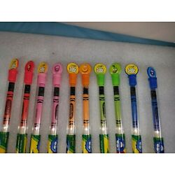 New Lot of 10 Crayola Silly Scents Scented Pencils, Gift for Kids