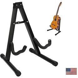 Folding  Guitar Stand Universal A frame Stand for All Guitars Electric Bass US