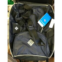 Brand New columbia co Cedar grove 22D blue and black sports bag With Tags