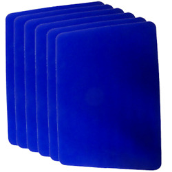 Small Close Up Pad 6 Pack (Blue 8 inch x 10 inch) by Goshman