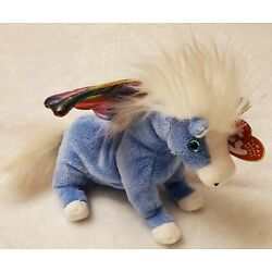 2002 TY Beanie Babies Pegasus, horse with wings, has tags- used