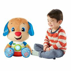 FISHER PRICE LAUGH AND LEARN SO BIG PUPPY *DISTRESSED PKG*