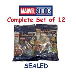 LEGO MARVEL Collectible Minifigures 71031 - Complete Set of 12    SEALED