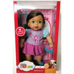 Fisher Price LITTLE MOMMY Uptown Girl Sweet As Me 14'' Doll 1st Friend BRAND NEW