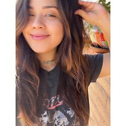 Navajo Sterling Silver 3 Stone Turquoise Choker Necklace 15 Inch