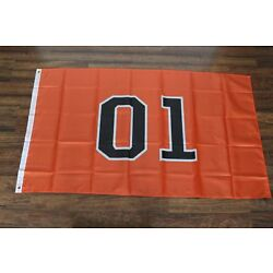 01 General Lee Banner Flag Dukes of Hazzard Television Show TV Southern Pride