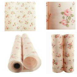 Flower Shelf Contact Paper Kitchen Table Cabinet Drawer Liner Mat Pad 30x300cm