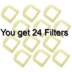 24 Foam Pre-Filters for Drinkwell Stainless Steel 360, Lotus, Avalon, Pagoda