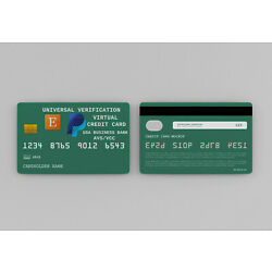 VCC Virtual Credit Card For Online Account Verification 1 hour Delivery