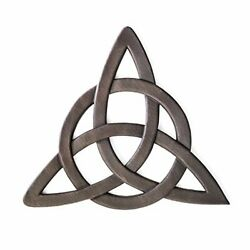 Resin Celtic Trinity Knot Wall Art for Home Decoration, Religious Communion