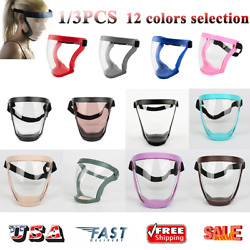 1/3Pcs Active Shield Full Face Mask Sports Cycling Safety Protective Outdoor USA