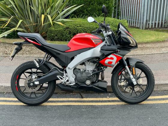2019 APRILIA TUONO 125 LEARNER LEGAL, LOW MIES, DELIVERY AVAILABLE