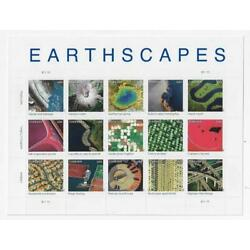 US Pane of 15, #4710, Earthscapes, MNH