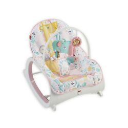 Fisher-Price Infant-to-Toddler Rocker, Pink - NEW