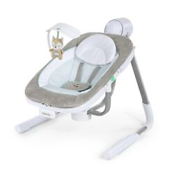 Ingenuity AnyWay Sway PowerAdapt Dual-Direction Portable Baby Swing - NEW