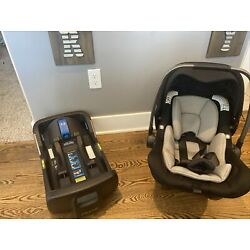 Bugaboo Turtle One by Nuna Infant Car Seat and Base, Black - 07/2019
