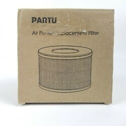 LW-03 True HEPA Filter Replacement For Partu Air Purifier 1 Pack New OBN